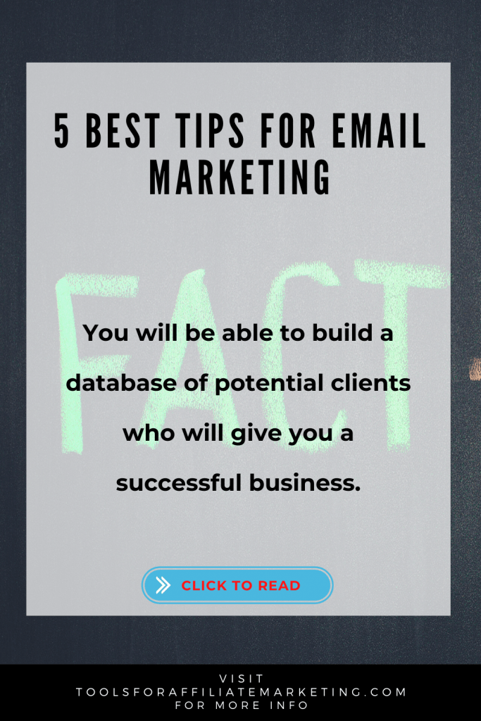 5 Best Tips for Email Marketing