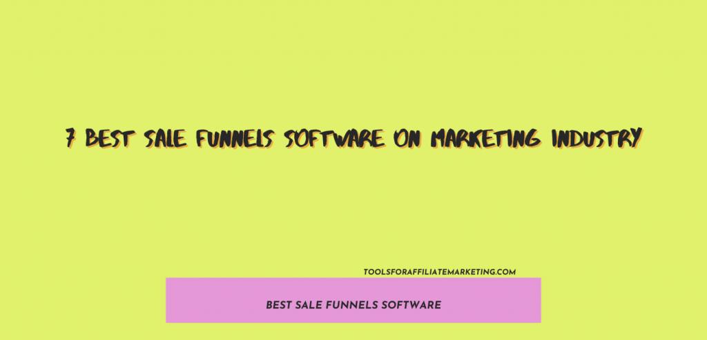 Best Sale Funnels Software