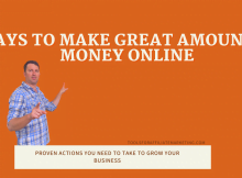 7 Ways to Make Great Amounts of Money Online