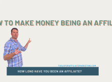 How to Make Money Being an Affiliate