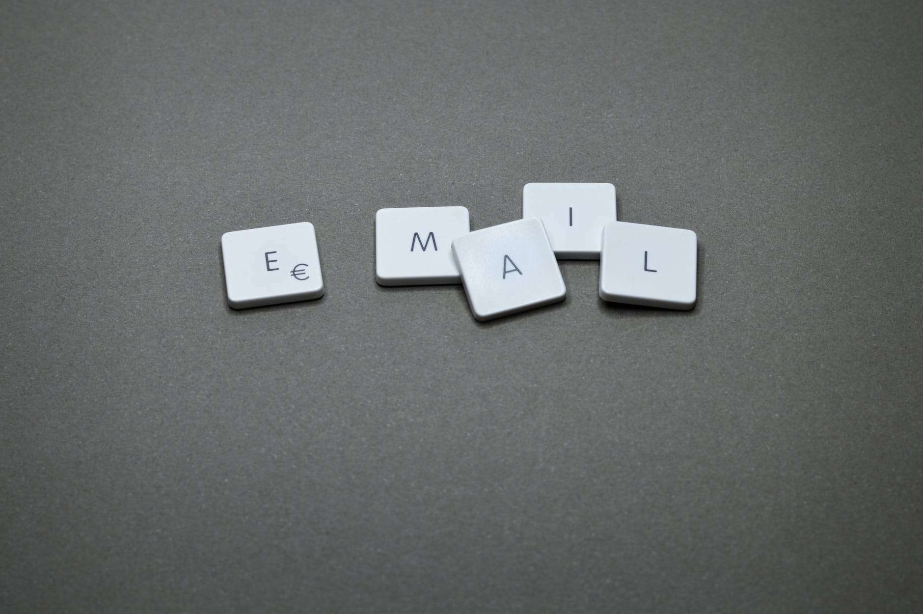 email blocks on the gray surface - Tips About Using Emails