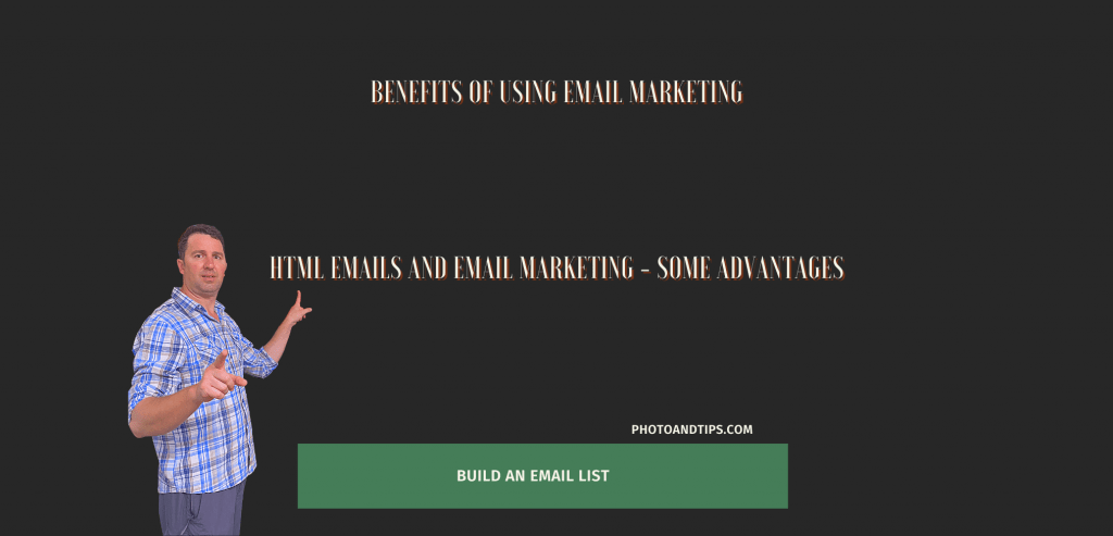 HTML Emails and Email Marketing - Some Advantages