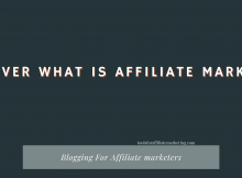 Discover What Is Affiliate Marketing